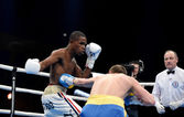 World series of boxing: Ukraine Otamans vs Cuba Domadores — Stockfoto