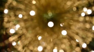Blurred motionf of lights fountain — Wideo stockowe