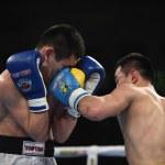 World series of boxing: Ukraine Otamans vs Russian Boxing Team  — Stock Photo #70701433