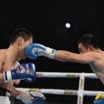 World series of boxing: Ukraine Otamans vs Russian Boxing Team  — Stock Photo #70701585