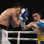 World series of boxing: Ukraine Otamans vs Russian Boxing Team  — Stock Photo #70701653