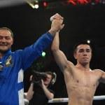 World series of boxing: Ukraine Otamans vs Russian Boxing Team  — Stock Photo #70701771