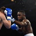World series of boxing: Ukraine Otamans vs British Lionhearts — Stock Photo #76294319