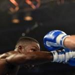 World series of boxing: Ukraine Otamans vs British Lionhearts — Stock Photo #76294335
