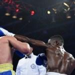 World series of boxing: Ukraine Otamans vs British Lionhearts — Stock Photo #76294381