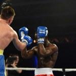 World series of boxing: Ukraine Otamans vs British Lionhearts — Stock Photo #76294415