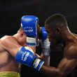 World series of boxing: Ukraine Otamans vs British Lionhearts — Stock Photo #76294439
