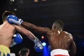 Serie di mondo della boxe: Ucraina otamans vs Leoni britannici — Foto Stock