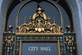Entrance to City Hall, San Francisco,California — Stock Photo