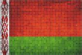 Mosaic Flag of Belarus — Stock Vector