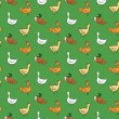 Seamless pattern with animals — Stock Vector #57989815