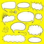Set comics bubbles — Stock Vector #57992349