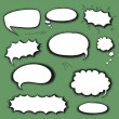 Set comics bubbles — Stock Vector #57992381