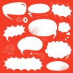 Set comics bubbles — Stock Vector #58018983