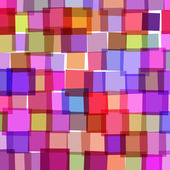 Background with colorful squares — Stock Vector