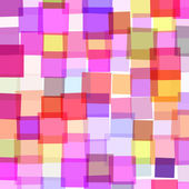 Abstract background with colorful squares — Stock Vector