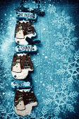 Decorações de natal — Fotografia Stock