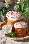 Pane di Pasqua celebrativo — Foto Stock