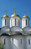 Christianity chathedral in Russia — Stok fotoğraf