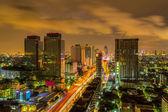 Skyline in Bangkok. — Stock Photo