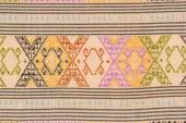 Ancient Thai art fabric paint pattern . — ストック写真