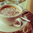 Cappuccino or latte coffee. — Stock Photo #67788403