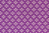 Ancient Thai art fabric paint pattern . — Stock Photo