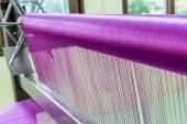 Roze zijde weven. — Stockfoto