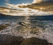 Küste des nordmeer — Stockfoto