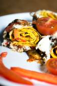 Yumurtalı omlet — Stok fotoğraf