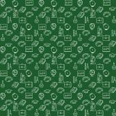 Background school, seamless texture — Stockvektor
