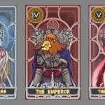 ������, ������: Tarot card illustration set