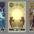 Постер, плакат: Tarot card illustration set