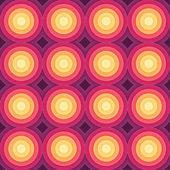 Crazy colorful gradient geometric pattern. Vector — Vector de stock