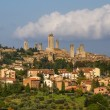 City Line of San Gimignano-San Gimignano, Italy — Stock Photo #62814717
