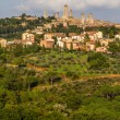 City Line of San Gimignano-San Gimignano, Italy — Stock Photo #62814781