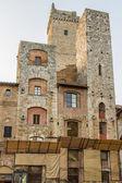 San Gimignano Ancient Towers-San Gimignano, Italy — Foto Stock