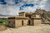 Royal Palace with Buddhist temple-Leh,Ladakh,India — Foto Stock