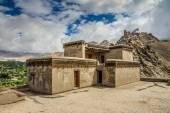 Royal Palace with Buddhist temple-Leh,Ladakh,India — Fotografia Stock