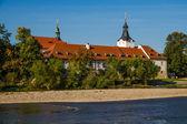 Dobrichovice castle by Berounka river-Czech Rep. — Fotografia Stock