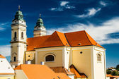 Church Of Merciful Brothers,Valtice,Czech Republic — Stock Photo