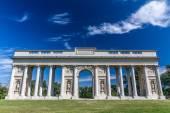 "Neoclassical Colonnade""Reistna"",Valtice,Czech Rep. — Stock Photo"