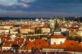 View of Praque Towers - Prague,Czech Republic — Stock Photo