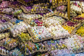 Shop with many colorful Easter eggs-Salzburg — Stock Photo