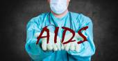 AIDS HIV medical doctor — Stock Photo