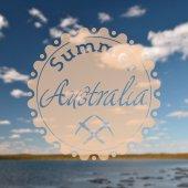 Hipster summer australia — Stock Photo