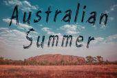 Vintage australia summer — Stockfoto