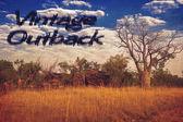 Vintage outback — Stockfoto