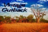 Vintage australia — Stockfoto