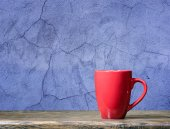 One Red cup — Stock Photo